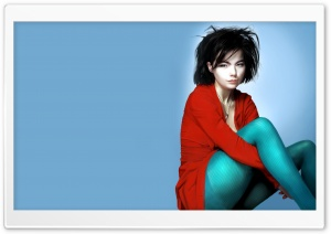 Bjork Painting HD Wide Wallpaper for Widescreen