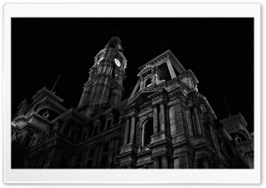Black And White Architecture HD Wide Wallpaper for Widescreen