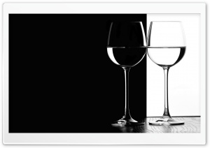 Black And White Glasses HD Wide Wallpaper for Widescreen