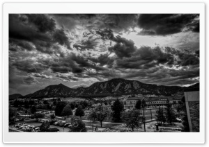 Black And White HDR HD Wide Wallpaper for Widescreen