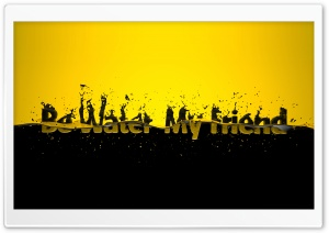 Black And Yellow HD Wide Wallpaper for Widescreen