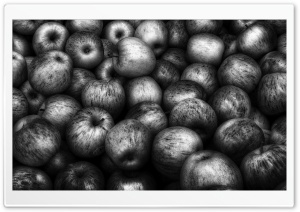 Black Apples HD Wide Wallpaper for 4K UHD Widescreen desktop & smartphone