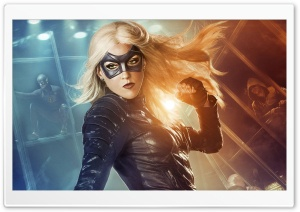 Black Canary HD Wide Wallpaper for Widescreen