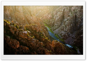 Black Canyon of the Gunnison National Park HD Wide Wallpaper for 4K UHD Widescreen desktop & smartphone