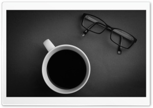 Black Coffee HD Wide Wallpaper for Widescreen