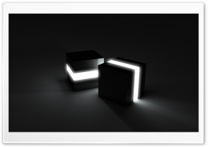 Black Cubes HD Wide Wallpaper for Widescreen