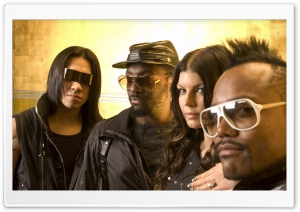 Black Eyed Peas Members HD Wide Wallpaper for Widescreen
