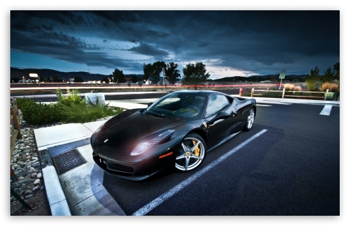 Black Ferrari HD wallpaper for Standard 4:3 5:4 Fullscreen UXGA XGA SVGA QSXGA SXGA ; Wide 16:10 5:3 Widescreen WHXGA WQXGA WUXGA WXGA WGA ; HD 16:9 High Definition WQHD QWXGA 1080p 900p 720p QHD nHD ; Other 3:2 DVGA HVGA HQVGA devices ( Apple PowerBook G4 iPhone 4 3G 3GS iPod Touch ) ; Mobile VGA WVGA iPhone iPad PSP Phone - VGA QVGA Smartphone ( PocketPC GPS iPod Zune BlackBerry HTC Samsung LG Nokia Eten Asus ) WVGA WQVGA Smartphone ( HTC Samsung Sony Ericsson LG Vertu MIO ) HVGA Smartphone ( Apple iPhone iPod BlackBerry HTC Samsung Nokia ) Sony PSP Zune HD Zen ; Tablet 2 Android ; Dual 4:3 5:4 UXGA XGA SVGA QSXGA SXGA ;