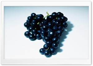 Black Grape HD Wide Wallpaper for Widescreen