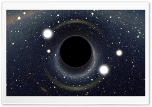 Black Hole HD Wide Wallpaper for Widescreen
