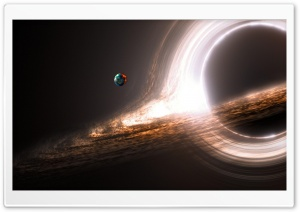 Black Hole Ultra HD Wallpaper for 4K UHD Widescreen desktop, tablet & smartphone