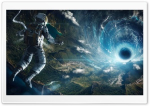 Black Hole on Earth Ultra HD Wallpaper for 4K UHD Widescreen desktop, tablet & smartphone