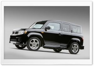 Black Honda Element 1 HD Wide Wallpaper for Widescreen