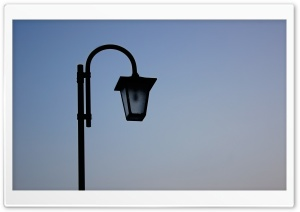 Black Lamp HD Wide Wallpaper for Widescreen