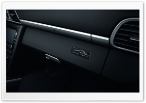 Black Porsche 911 Black Edition 2011 Interior HD Wide Wallpaper for Widescreen