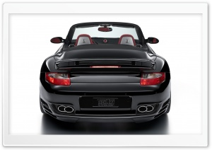 Black Porsche Car 2 HD Wide Wallpaper for Widescreen