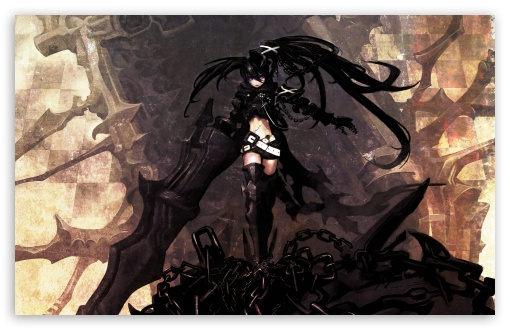 Black Rock Shooter HD wallpaper for Wide 16:10 5:3 Widescreen WHXGA WQXGA WUXGA WXGA WGA ; HD 16:9 High Definition WQHD QWXGA 1080p 900p 720p QHD nHD ; Standard 4:3 5:4 3:2 Fullscreen UXGA XGA SVGA QSXGA SXGA DVGA HVGA HQVGA devices ( Apple PowerBook G4 iPhone 4 3G 3GS iPod Touch ) ; Tablet 1:1 ; iPad 1/2/Mini ; Mobile 4:3 5:3 3:2 16:9 5:4 - UXGA XGA SVGA WGA DVGA HVGA HQVGA devices ( Apple PowerBook G4 iPhone 4 3G 3GS iPod Touch ) WQHD QWXGA 1080p 900p 720p QHD nHD QSXGA SXGA ;