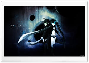 Black Rock Shooter HD Wide Wallpaper for 4K UHD Widescreen desktop & smartphone