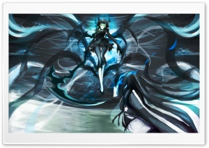 Black Rock Shooter Dead Master HD Wide Wallpaper for Widescreen