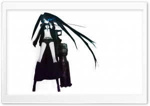 Black Rock Shooter V HD Wide Wallpaper for Widescreen