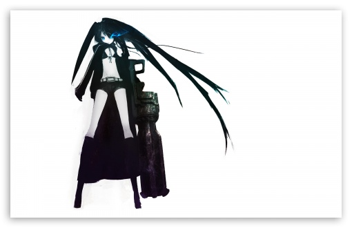 Black Rock Shooter V HD wallpaper for Wide 16:10 5:3 Widescreen WHXGA WQXGA WUXGA WXGA WGA ; Standard 4:3 5:4 3:2 Fullscreen UXGA XGA SVGA QSXGA SXGA DVGA HVGA HQVGA devices ( Apple PowerBook G4 iPhone 4 3G 3GS iPod Touch ) ; Tablet 1:1 ; iPad 1/2/Mini ; Mobile 4:3 5:3 3:2 5:4 - UXGA XGA SVGA WGA DVGA HVGA HQVGA devices ( Apple PowerBook G4 iPhone 4 3G 3GS iPod Touch ) QSXGA SXGA ;