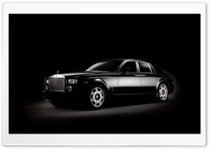 Black Rolls Royce HD Wide Wallpaper for 4K UHD Widescreen desktop & smartphone