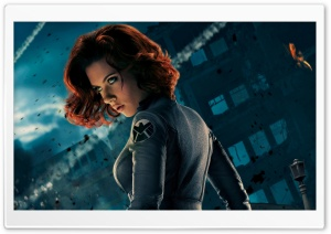Black Widow HD Wide Wallpaper for Widescreen