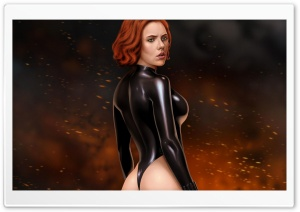 Black Widow Ultra HD Wallpaper for 4K UHD Widescreen desktop, tablet & smartphone
