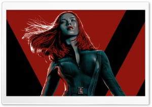 Black Widow - Captain America The Winter Soldier HD Wide Wallpaper for Widescreen