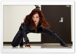 Black Widow, Iron Man 2 HD Wide Wallpaper for Widescreen