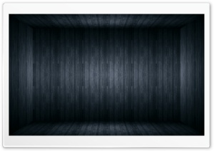 Black Wood Room HD Wide Wallpaper for Widescreen