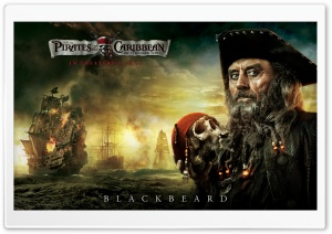 Blackbeard - 2011 Pirates Of The Caribbean On Stranger Tides HD Wide Wallpaper for Widescreen
