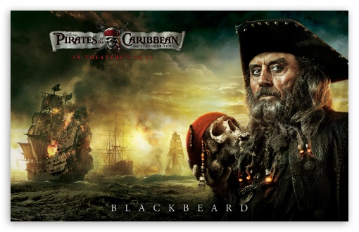 Blackbeard - 2011 Pirates Of The Caribbean On Stranger Tides ❤ 4K UHD Wallpaper for Wide 16:10 5:3 Widescreen WHXGA WQXGA WUXGA WXGA WGA ; Standard 4:3 3:2 Fullscreen UXGA XGA SVGA DVGA HVGA HQVGA ( Apple PowerBook G4 iPhone 4 3G 3GS iPod Touch ) ; iPad 1/2/Mini ; Mobile 4:3 5:3 3:2 - UXGA XGA SVGA WGA DVGA HVGA HQVGA ( Apple PowerBook G4 iPhone 4 3G 3GS iPod Touch ) ;