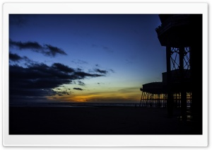 Blackpool Pier HD Wide Wallpaper for Widescreen