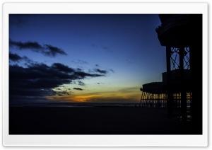 Blackpool Pier HD Wide Wallpaper for 4K UHD Widescreen desktop & smartphone