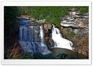 Blackwater Falls HD Wide Wallpaper for Widescreen