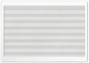Blank Sheet Music Ultra HD Wallpaper for 4K UHD Widescreen desktop, tablet & smartphone