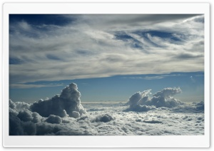 Blanket Of Clouds Sky HD Wide Wallpaper for 4K UHD Widescreen desktop & smartphone