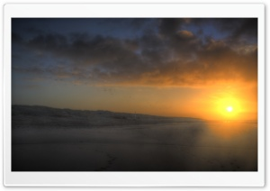 Blazing Sunrise HD Wide Wallpaper for Widescreen