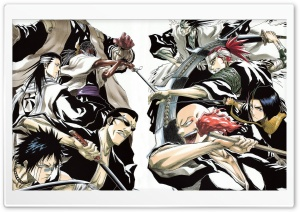 Bleach - Soul Reapers HD Wide Wallpaper for Widescreen