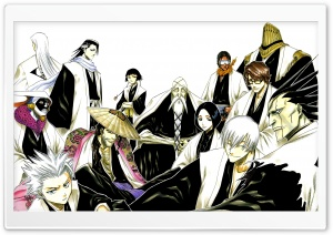 Bleach - Soul Reapers II HD Wide Wallpaper for 4K UHD Widescreen desktop & smartphone