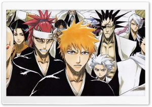 Bleach - Soul Society HD Wide Wallpaper for Widescreen