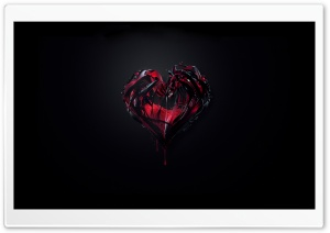 Bleeding Heart HD Wide Wallpaper for Widescreen