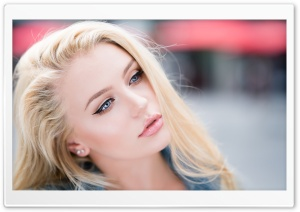 Blonde HD Wide Wallpaper for Widescreen