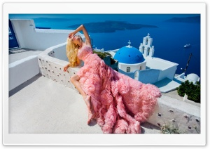 Blonde Woman HD Wide Wallpaper for Widescreen