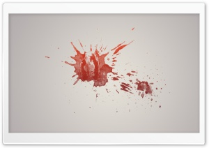 Blood HD Wide Wallpaper for Widescreen