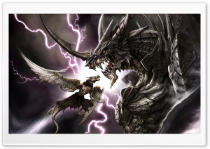 Blood Of Bahamut HD Wide Wallpaper for 4K UHD Widescreen desktop & smartphone