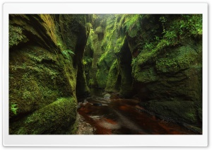 Blood River Devils Pulpit Scotland HD Wide Wallpaper for 4K UHD Widescreen desktop & smartphone