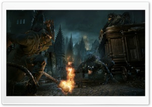 BloodBorne HD Wide Wallpaper for 4K UHD Widescreen desktop & smartphone