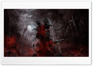 Bloodborne HD Wide Wallpaper for Widescreen